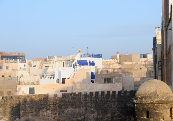 Maison avec vue mer sur les remparts d'Essaouira